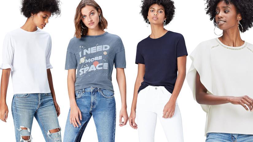 8ed8b415c5 La collezione delle magliette firmata Find di Amazon