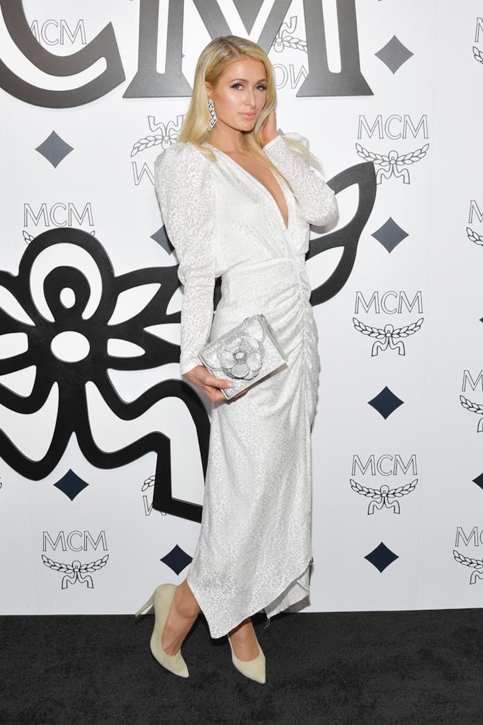 Paris Hilton al MCM store
