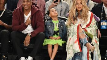 Beyoncé, Jay-Z e Blue Ivy