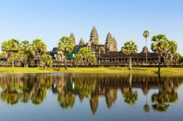 Angkor Wat a Siem Reap in Cambogia