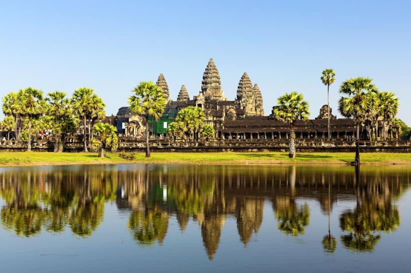 Angkor Wat a Siem Reap in Cambogia