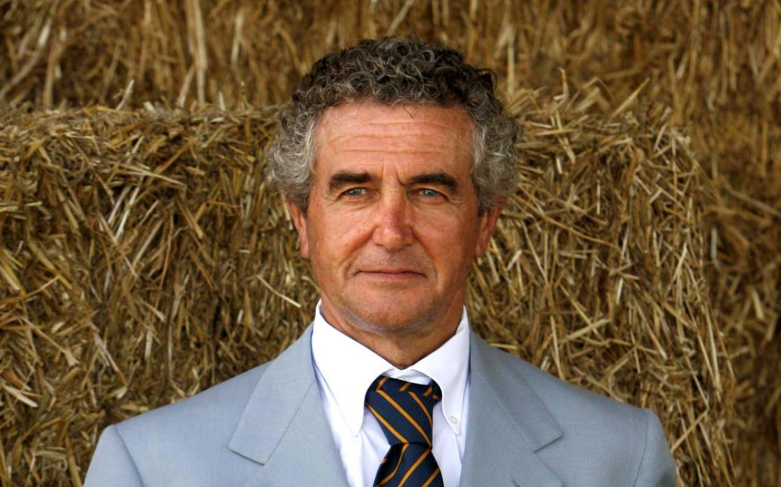 Carlo Benetton in primo piano