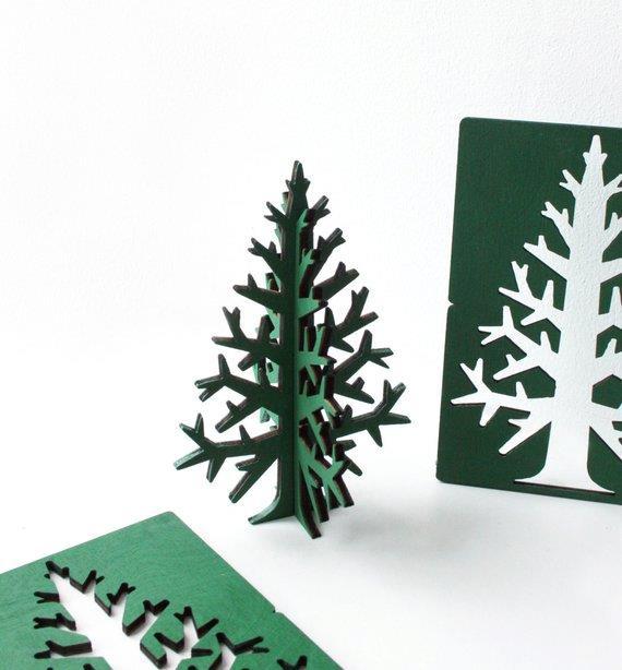 Albero di Natale tascabile