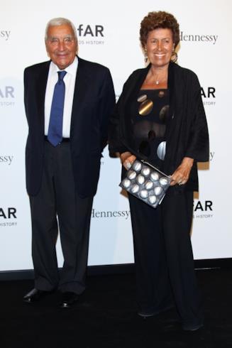 Carla Fendi e il marito Candido Speroni