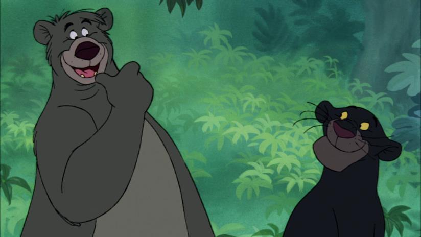 Bagheera e Baloo