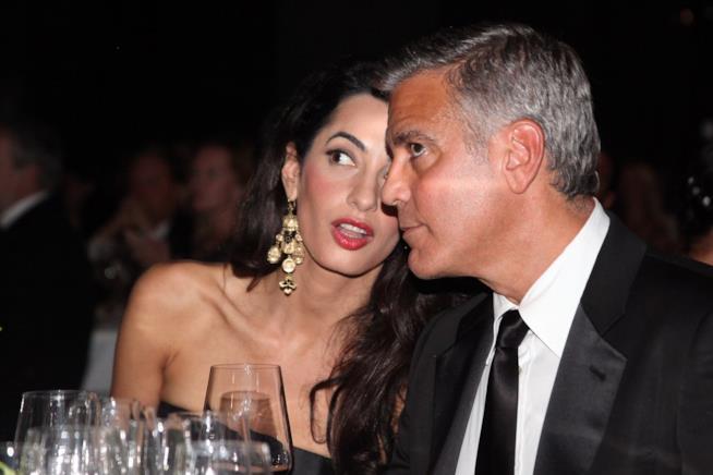 George Clooney e Amal a una cena ufficiale