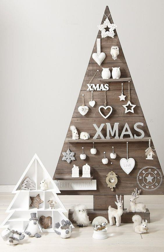 Albero di Natale inusuale