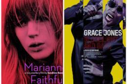 Le locandine di Faithfull e Grace Jones: Bloodlight And Bami