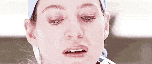 Meredith sposta l'ordigno