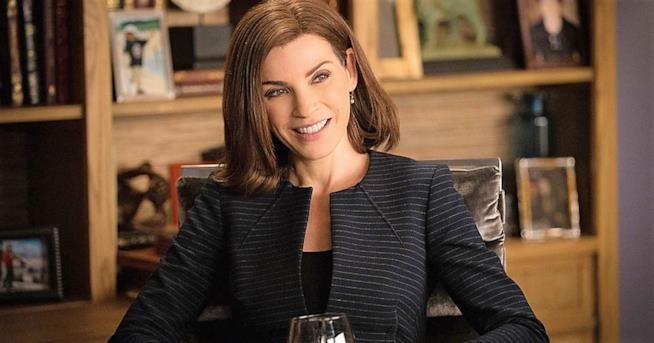 Julianna Margulies in una immagine di The Good Wife