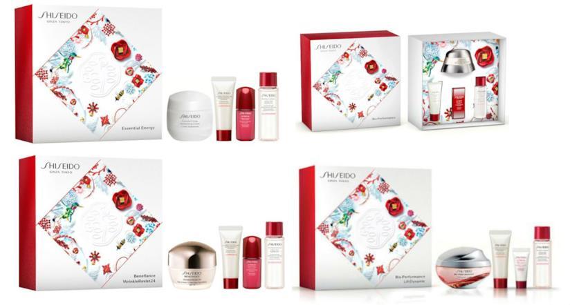 cofanetti natalizi shiseido