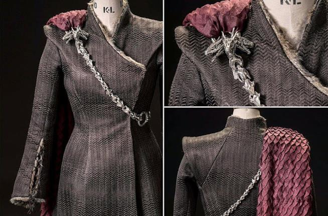 Il costume di Daenerys Targaryen nel dettaglio