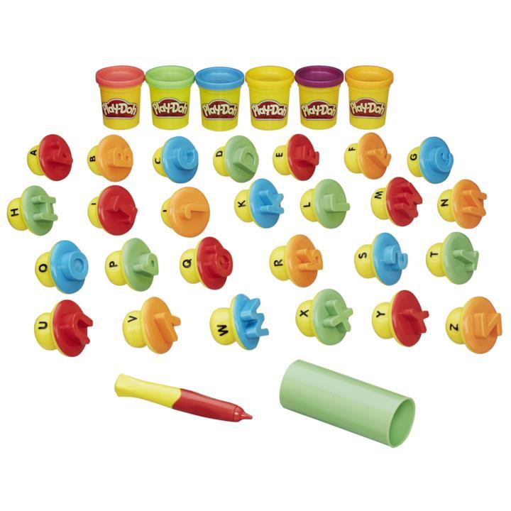 """Play-Doh """"Modella & Impara - Lettere e lingue"""""""