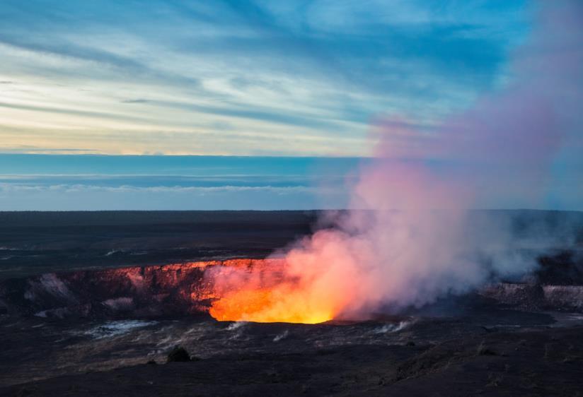 Il vulcano più attivo delle Hawaii: il Kiluaea
