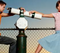 Una scena di Mandy Moore e Shane West ne I passi dell'amore