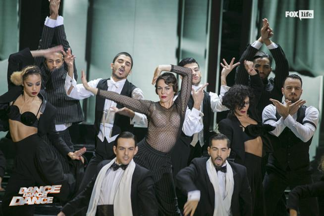 Claudia Gerini in Vogue, prima edizione di Dance Dance Dance