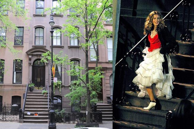 L'appartamento di Carrie in Sex And The City
