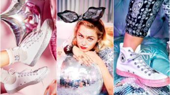 Miley Cyrus firma le nuove Converse