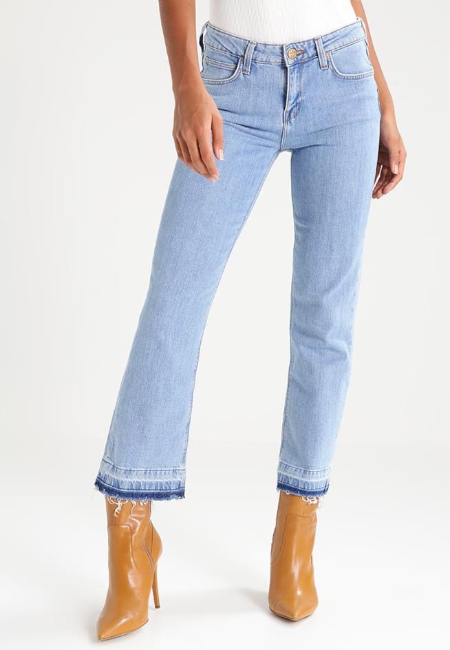 I jeans flare di Lee