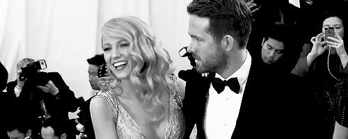 Blake Lively e Ryan Reynolds a un evento formale