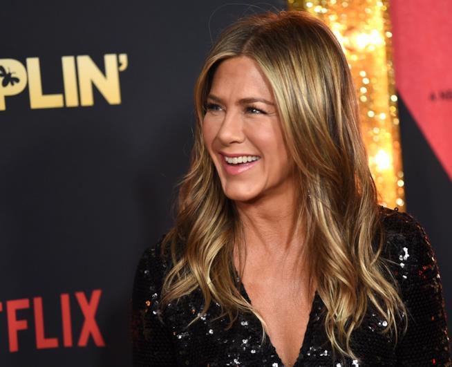 Jennifer Aniston sorridente
