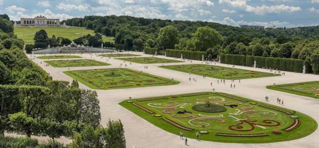 I Giardini più belli d'Europa, Giardino del Castello di Schonbrunn, Vienna, Austria