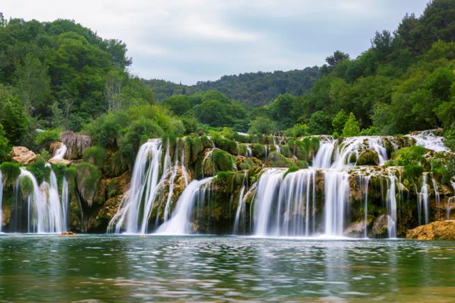 Le cascate del Parco di Krka