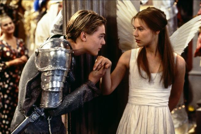 Romeo + Juliet interpretato da Leonardo Di Caprio e Claire Danes