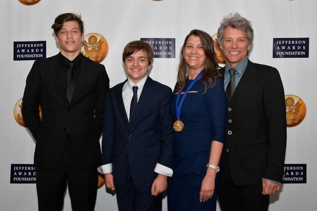 La famiglia Bon Jovi