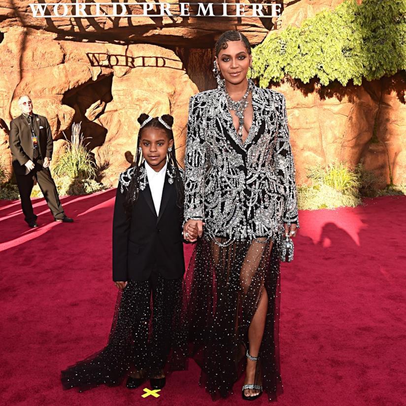 Beyoncé e la figlia Blue Ivy