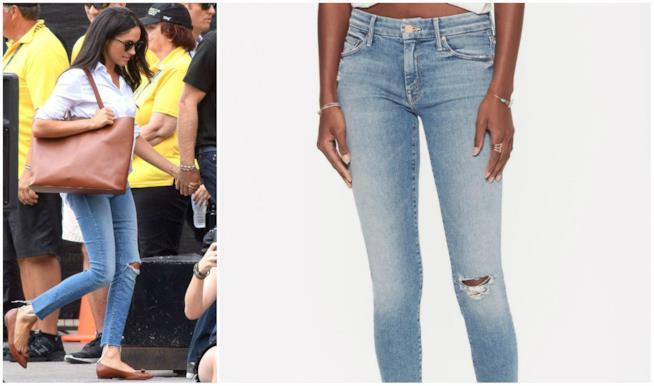 I jeans di Meghan Markle ai giochi Invictus