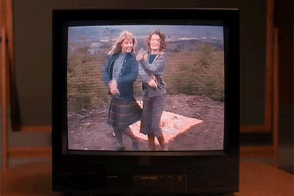 Laura Palmer e Donna Hayward, interpretate da Sheryl Lee e Lara Flynn Boyle