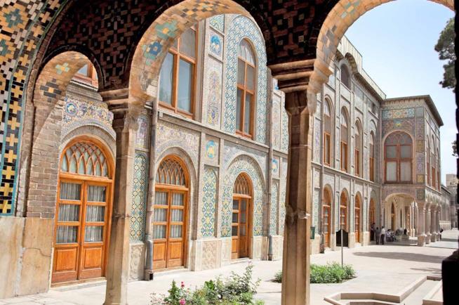 Iran, Palazzo Golestan a Tehran