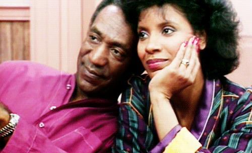 Cliff e Claire in una scena de I Robinson