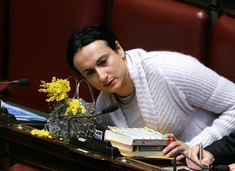 Vladimir Luxuria in Parlamento