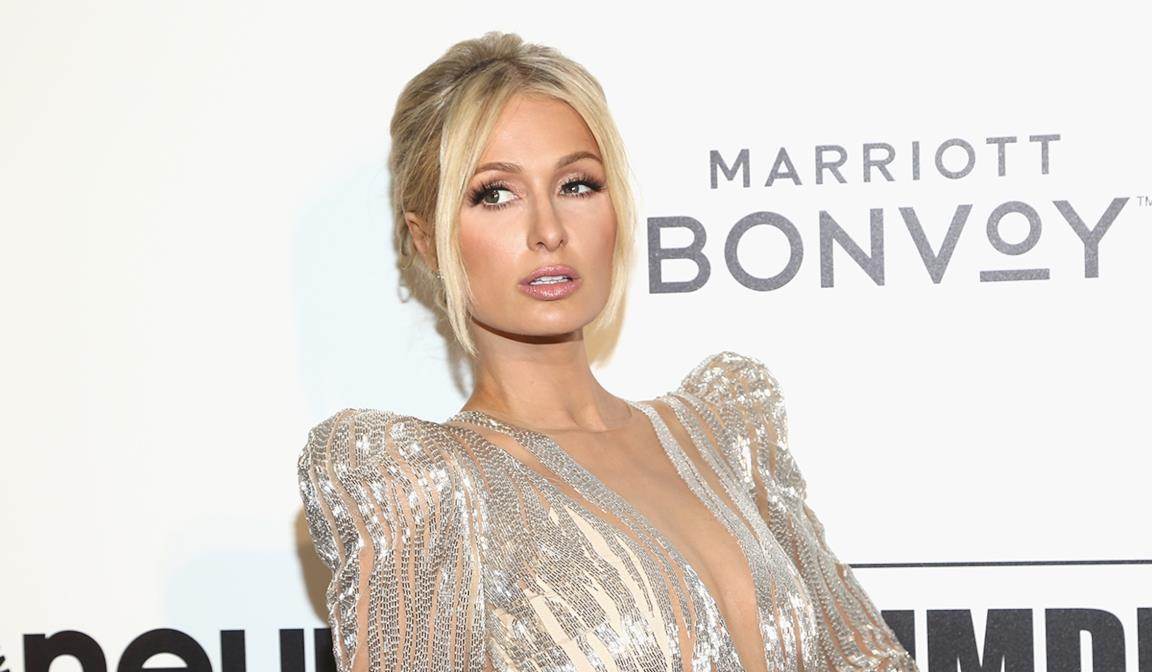 Paris Hilton in primo piano