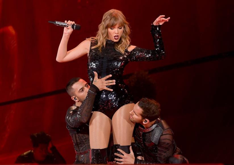 La pop star Taylor Swift