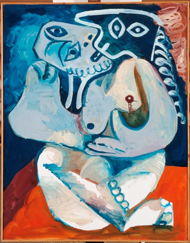 L'abbraccio di Picasso