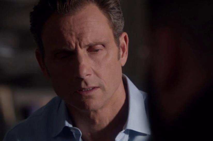 Fitz in una scena di Scandal 7