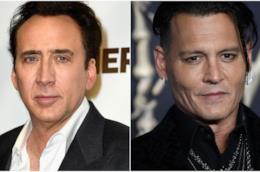 Nicolas Cage e Johnny Depp