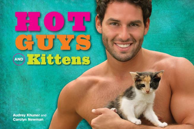 La copertina del libro Hot Guys And Kittens