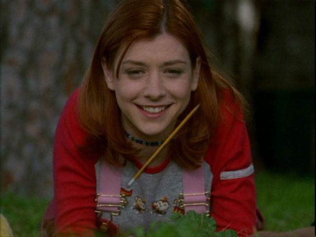 Willow alle prese con la magia