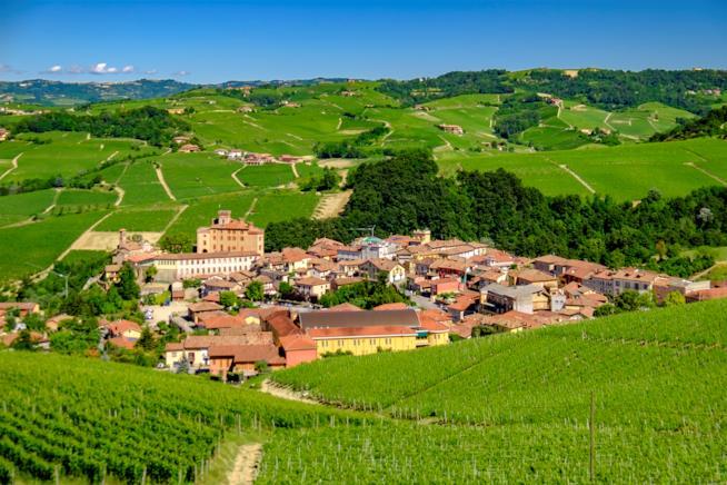 Il Piemonte e Barolo dove si produce il pregiatissimo vino