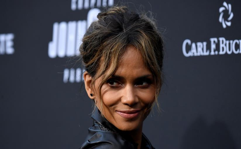 Halle Berry in primo piano
