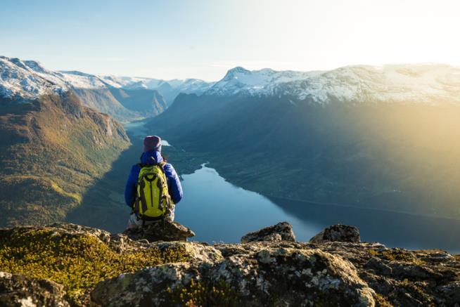 un fiordo norvegese