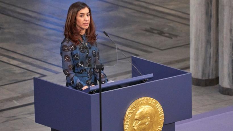 Nadia Murad Premio Nobel