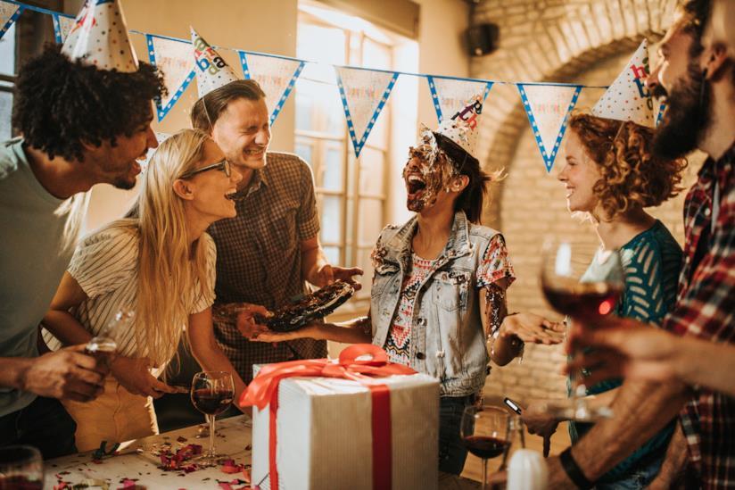 Una festa di compleanno.