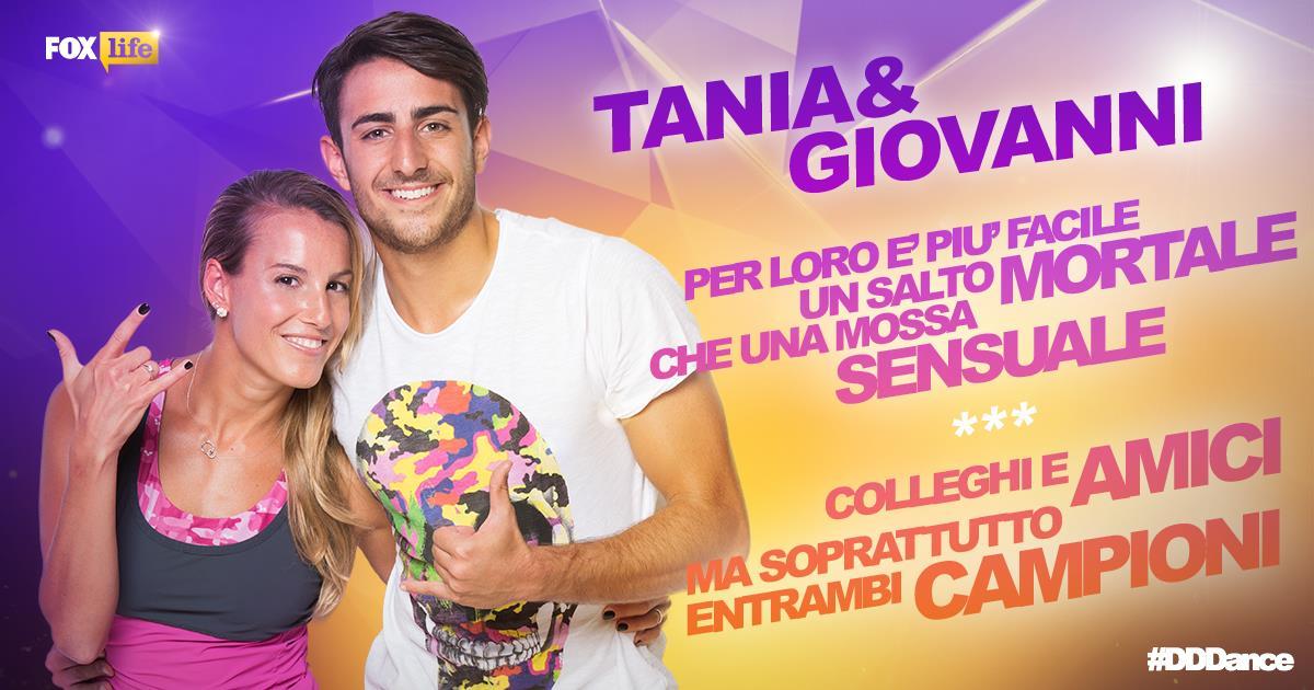 Tania Cagnotto e Giovanni Tocci