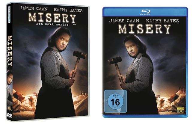 Edizioni home video di Misery non deve morire