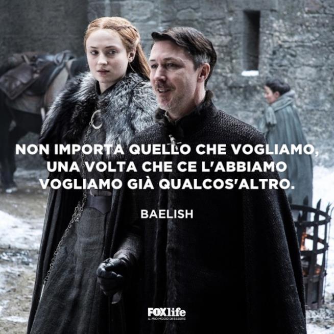 Baelish e Sansa